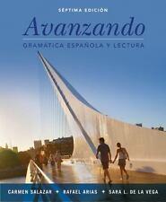 Avanzando : Gramatica Espanola y Lectura by Sara L. de la Vega, Carmen...