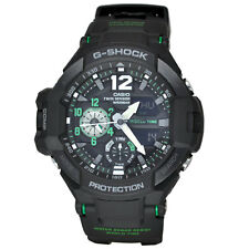 Casio G Shock GA1100-1A3 Gravity Master Green Black World Time Compass Watch