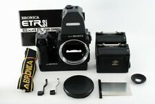 Zenza Bronica ETR Si AE III Finder, Motor Drive, 120 FB *Excellent* N4143