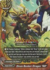 "Buddyfight 1x Drum Bunker Dragon ""SD"" - H-EB04/0005EN - RR"