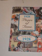 1928 PAGES OF TIME A NOSTALGIA NEWS REPORT