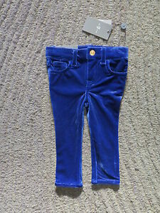 7 For All Mankind Baby Girls Blue Skinny Jeans - Size 12 Months - NWT