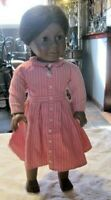 Pleasant Company American Girl Doll Addy Classic Meet Dress, Earrings & Necklace