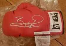 Bernard Hopkins Autograph Signed Everlast Boxing Glove JSA Witness COA Auto HOF