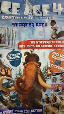 ICE AGE 4 CONTINENTAL DRIFT  STICKER ALBUM (EMPTY)