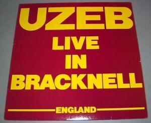 UZEB  (LP 33T) Live in Bracknell