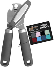 Gorilla Grip Manual Can Opener, Handheld Comfortable Grip, Oversized Easy Turn K