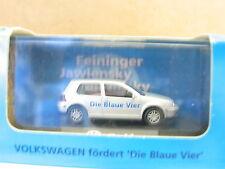 Wiking VW Golf Die blaue Vier 1998 Kunstsammlung D´dorf OVP (U4577)