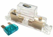 Stinger Pro MAXI 4 or 8 Gauge Gold Inline Fuse Holder Fuseholder w/ 60 Amp Fuse