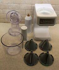 Cuisinart PrepExpress Slicer Shredder Spiralizer White NEW