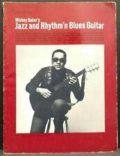 Mickey Bakers Jazz And Thythm'n Blues Guitar Instructional Self Teach 1960s T27