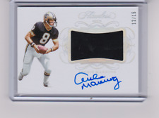 2019 Flawless Patch Autograph Archie Manning Ruby On Card Auto #/15 Saints