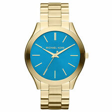 Michael Kors MK3265 Ladies Gold Slim Runway Watch - 2 Year