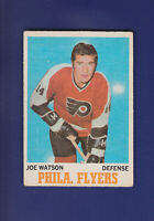 Joe Watson 1970-71 O-PEE-CHEE OPC Hockey #79 (VG) Philadelphia Flyers