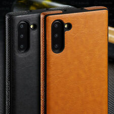For Samsung Galaxy Note 10/9/8 Plus SLIM Luxury Leather Ultra Thin Case Cover