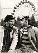 Helmuth Lohner & Michael Janisch, Original-Photo von 1970