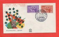 FDC - Europa 1962 - Conseil de l'Europe - Strasbourg (729)