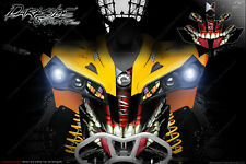CAN-AM RENEGADE FRONT BUMPER CLOWN GRAPHICS DECAL WRAP KIT 2012-2018