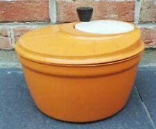 Ancienne essoreuse à salade Moulinex vintage Orange Décoration Collection