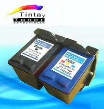 2 Cartuchos tinta para hp21+22 XL Deskjet 3920 3940 d1360 d1460 d1560 d2360d2460