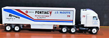 Vintage collectible rare Die cast Pontiac tractor & trailer1/64 by Winross