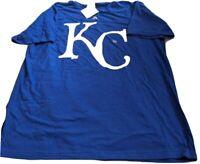 NWT Kansas City Royals Majestic triple peak XL t-shirt