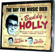 The Day The Music Died 3 CD Compilation Buddy Holly Levi's Presley