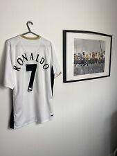 Manchester United 2006 7 Ronaldo Away Football Shirt Size Large Authentic Rare