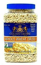 Specially selected Whole Wheat Orzo Pasta, kosher, Non GMO, VEGAN, 32 OZ,(2 LBS)