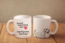 "Sealyham Terrier - ceramic cup, mug ""Good morning and love "", Ca"