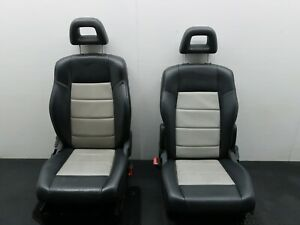 2008 JEEP PATRIOT LIMITED 4x4 FRONT HEATED SEATS LEATHER DRIVERS PASSENGER SET