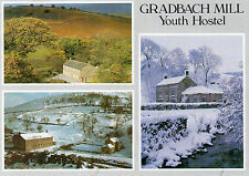 Postcard  Derbyshire  Gradbach Mill Youth Hostel  multiview  unposted  Judges