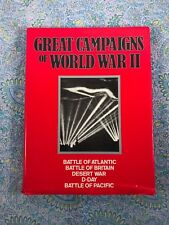 GREAT CAMPAIGNS OF WWII 1939-1945 LONGMEADOW PRESS 1988 - MILITARY HISTORY