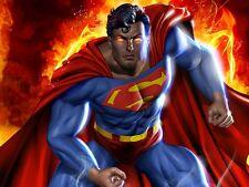Superman Comics Man of Steel  Fridge Magnet Decor Mancave #12 Christmas Gift !