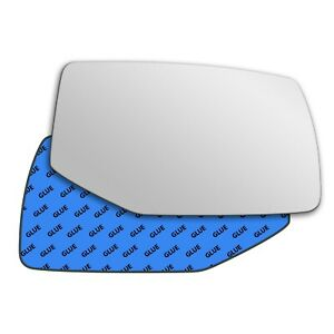 Right wing adhesive mirror glass for Cadillac SRX 2004-2009 803RS