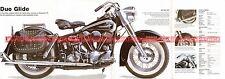 HARLEY DAVIDSON 1200 Duo Glide 1961 Fiche Moto 000496