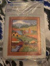 Accents Needlepoint Kit Country Road Sampler 2052 4x5