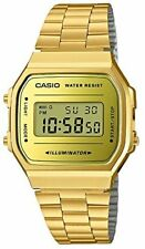 CASIO CASIO Standard A168WEGM-9JF Gold Men's Watch 2018 New