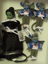 Madame Alexander Wizard of Oz Wicked Witch & Winged Monkeys 75 Anniver. 018/300