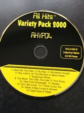 Karaoke CDG Disc - All Hits Variety Pack 2000  - AHVP04