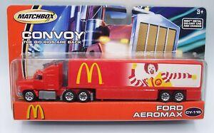 """MATCHBOX"" CONVOY CY-115 **McDONALD'S** w/ FORD AEROMAX MOC"