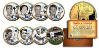 YANKEES LEGENDS 24K Gold Plated NY State Quarters US 7-Coin Set +Bonus Babe Ruth