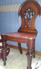 Chaise acajou époque Victorienne authentique