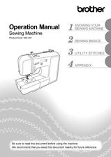 Brother CE8100 Sewing Machine Owners Instruction Manual Reprint