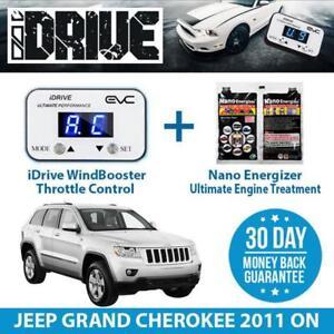 IDRIVE THROTTLE CONTROL FOR  JEEP GRAND CHEROKEE 2011 ON + NANO ENERGIZER AIO