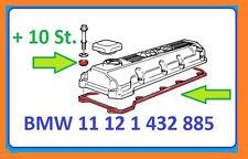 BMW Ventildeckeldichtung / 10x Dichtring BMW E46, 316i, 318i,in OEM Qualität