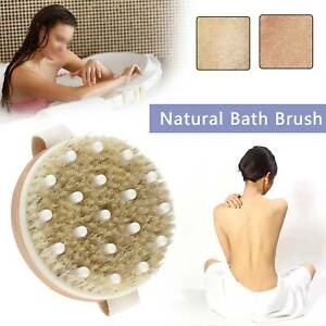 Full Body Relax Natural Brushes Bath Skin Exfoliation Brush Shower Regular Size