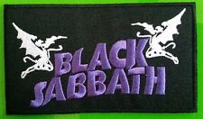 BLACK SABBATH  Patch Embroidered NEW Rock Heavy Metal !!!!