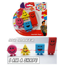 MISTER MAKER COLLECTABLE SHAPES CBEEBIES 4 FIGURE PACK TOY