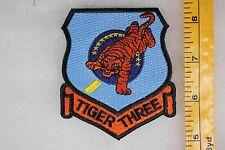 US Vietnam Era Post Tiger Three 3 Fighter Squadron Patch SQ132